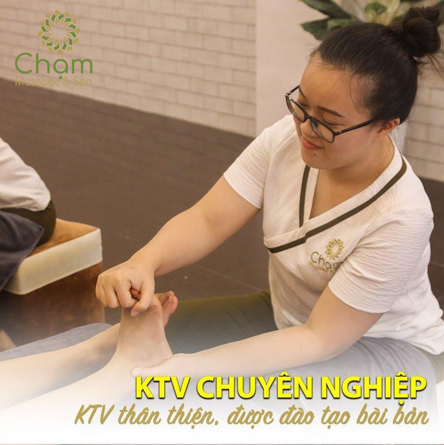 Massage chân Quy Nhơn